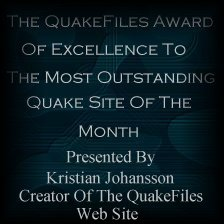 QuakeFiles - Site of the Month; May 1998